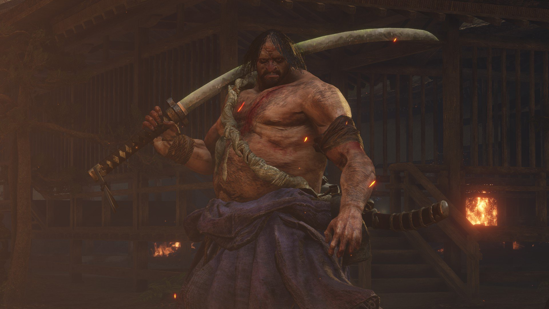 Juzou the Drunkard | Sekiro Shadows Die Twice Wiki